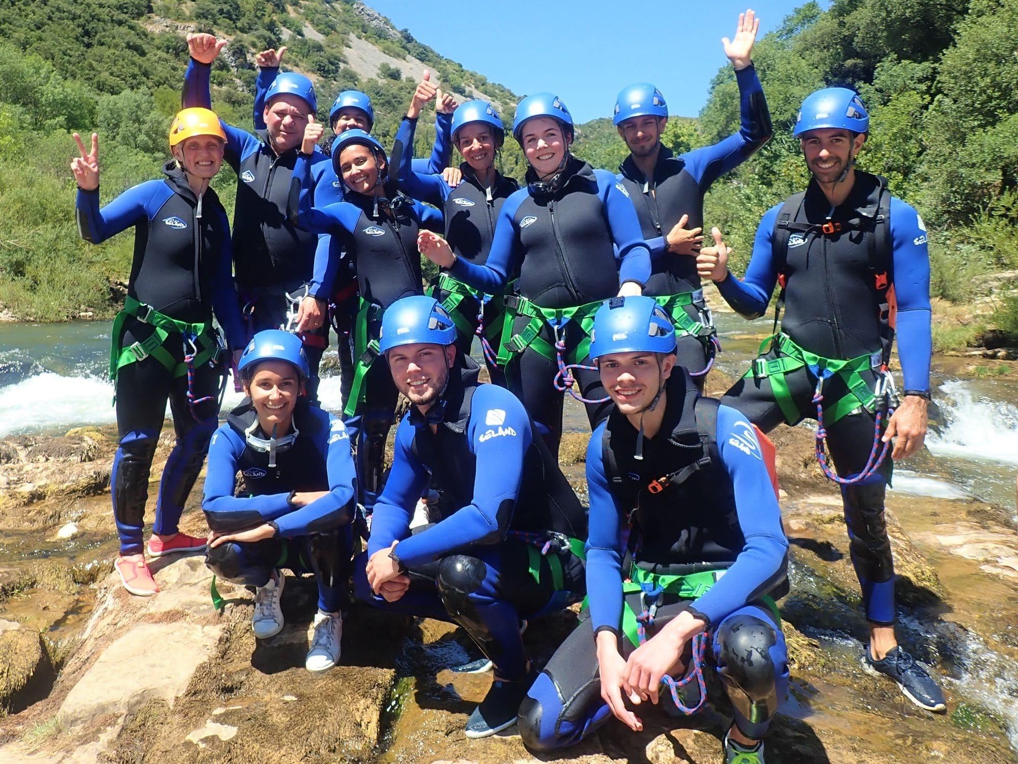 Activités sport EVG et EVJF originales dans le Gard et l'Hérault avec Naturéo sport Aventure.